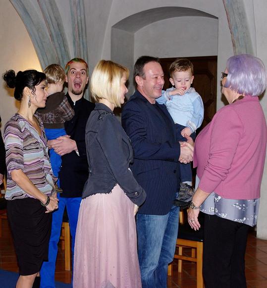 Lucie a Michal se teprve na konci minulého roku vzali.
