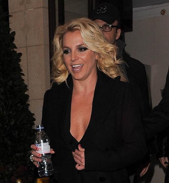 Britney Spears má provokaci v krvi.