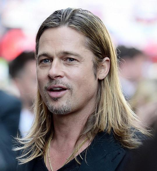 Brad Pitt na snímku z letošního června
