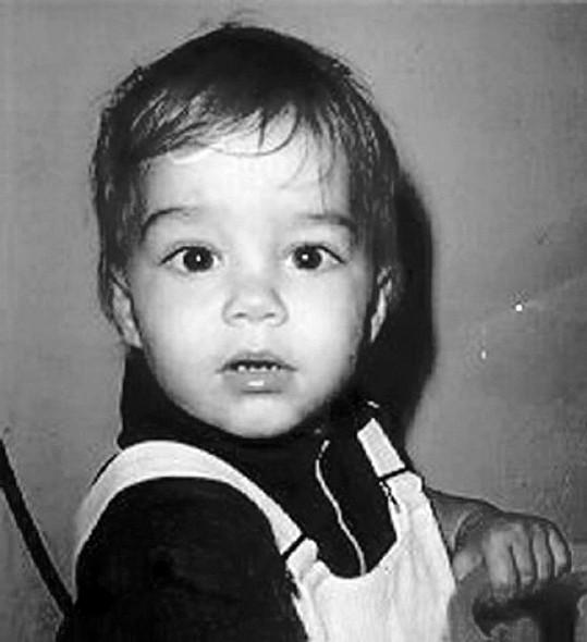 Ricky byl nádherné miminko.