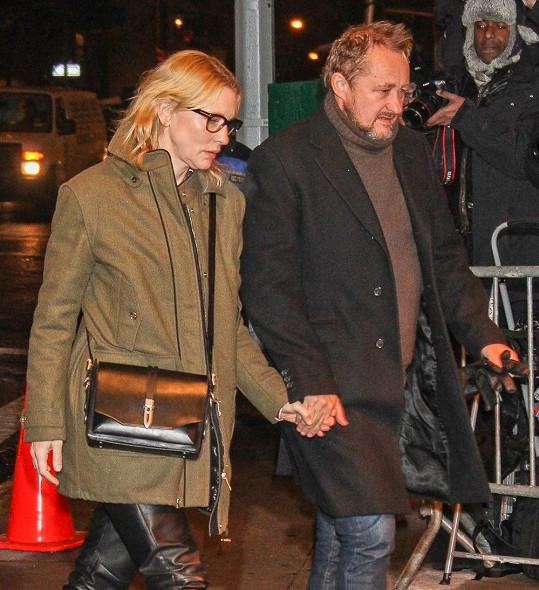 Cate Blanchett s manželem