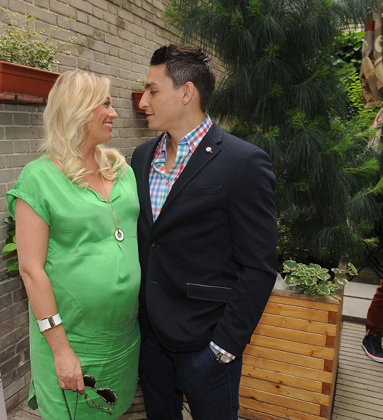 Lucie s partnerem Michalem Hrdličkou.