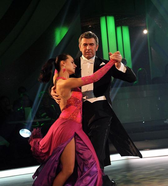 Imrich Bugár a Jitka Šorfová to dotáhli až na třetí místo ve StarDance.