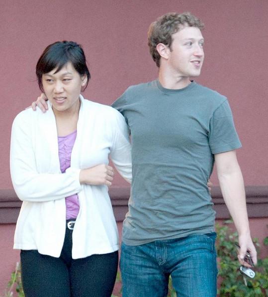 Mark a jeho žena Priscilla