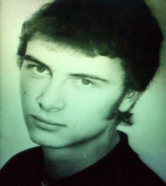 Vladimír Čech byl jako mladík velký fešák.