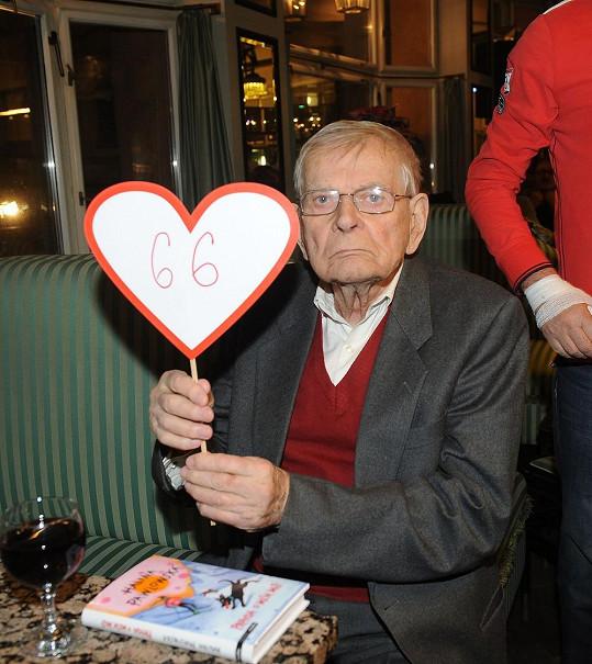 Rekord trhl Jan Skopeček, který je se svou manželkou Věrou Tichánkovou šestašedesát let.