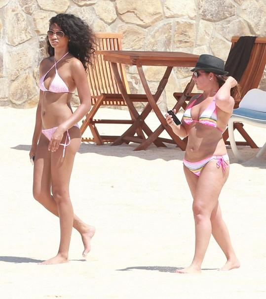 Chanel Iman odletěla dovolenkovat do Mexika.
