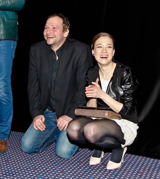 Marek Taclík a Kristýna Boková si zahráli manžele a rodiče.
