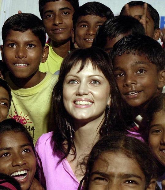 Yana Gupta je v Indii velkou hvězdou.