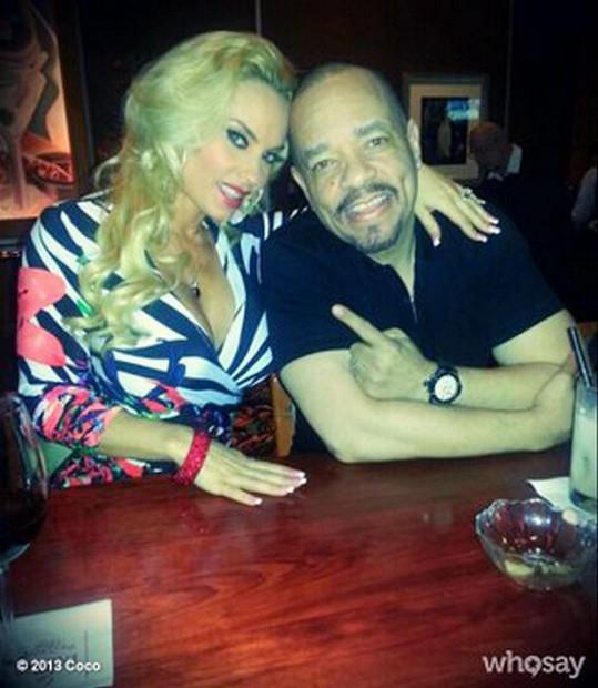 Coco Austin s manželem Ice-T.