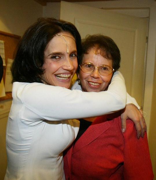 Lucie Bílá má ke své mamince moc hezký vztah.