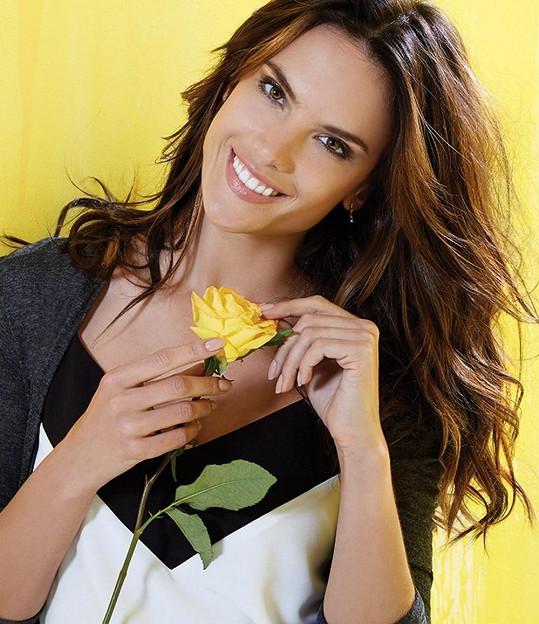 Alessandra v reklamní kampani