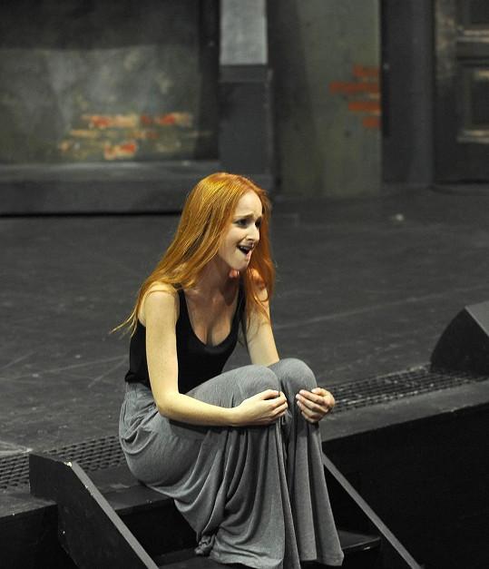 Tereza Vágnerová nedozpívala. Vypadla jí čelist.
