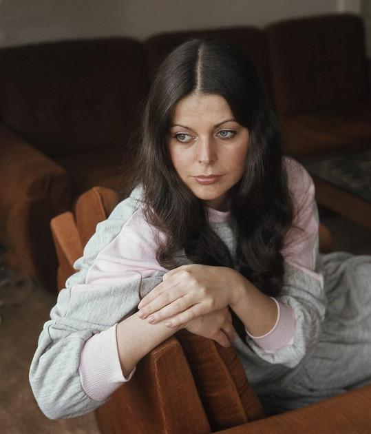 Andrea Čunderlíková byla krásnou a žádanou herečkou.