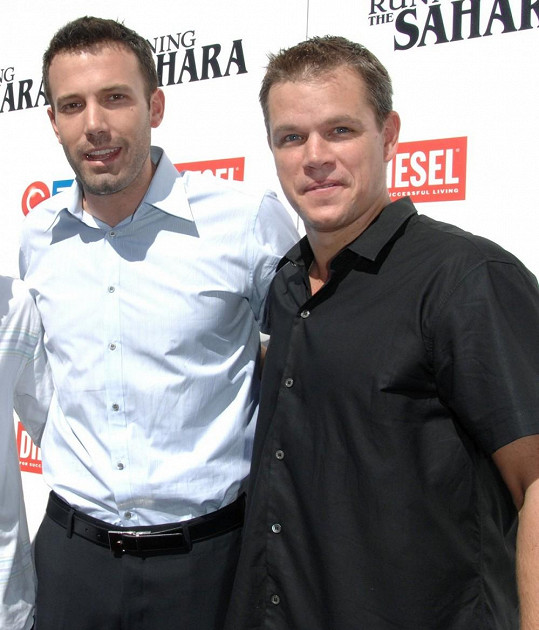 Matt Damon a Ben Affleck se znají od dětství.