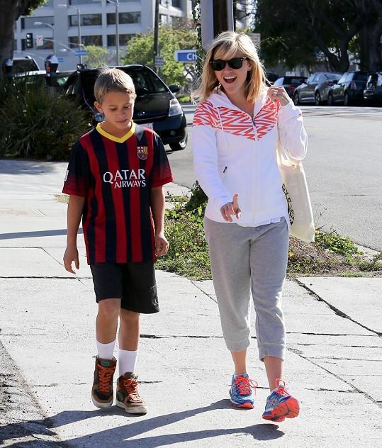 Reese Witherspoon se synem Deaconem