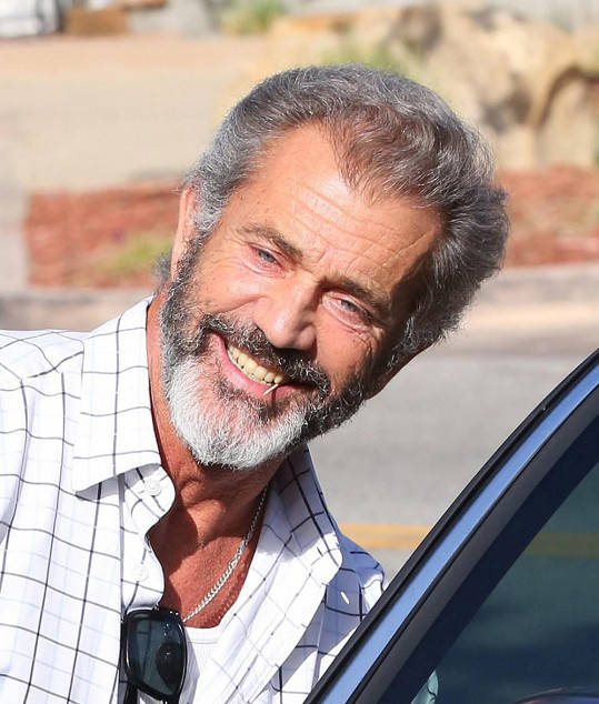 Mel Gibson má stále charizma na rozdávání, ale mladistvý vzhled jej opouští.