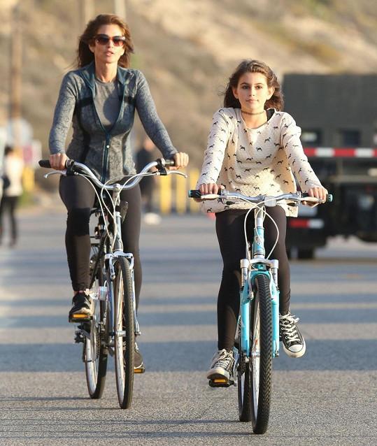 Cindy Crawford na vyjíždce s dcerou Kaiou