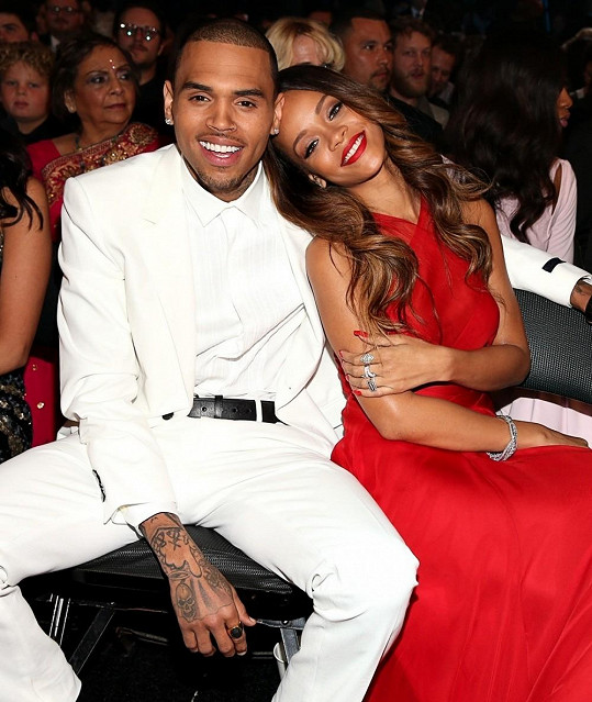RiRi a Chris Brown.