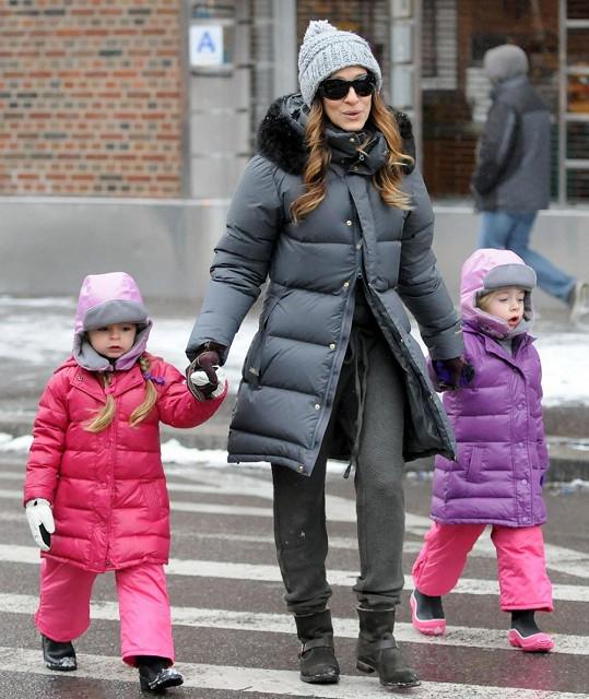 Sarah Jessica Parker si své děti umí naparádit.