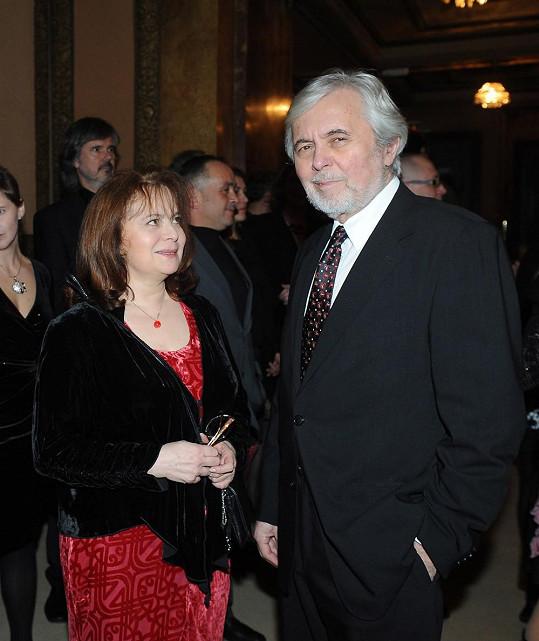 Libuše Šafránková na udílení vyznamenání chyběla.