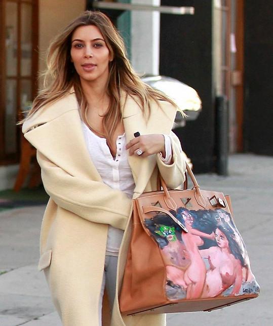 Kim Kardashian vyrazila hned po Vánocích na nákupy.