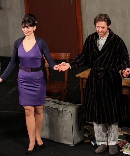 Langmajer a Gondíková spolu hrají i v divadle.
