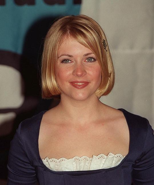 Melissa v roce 1998, kdy už dva roky ztvárňovala Sabrinu.