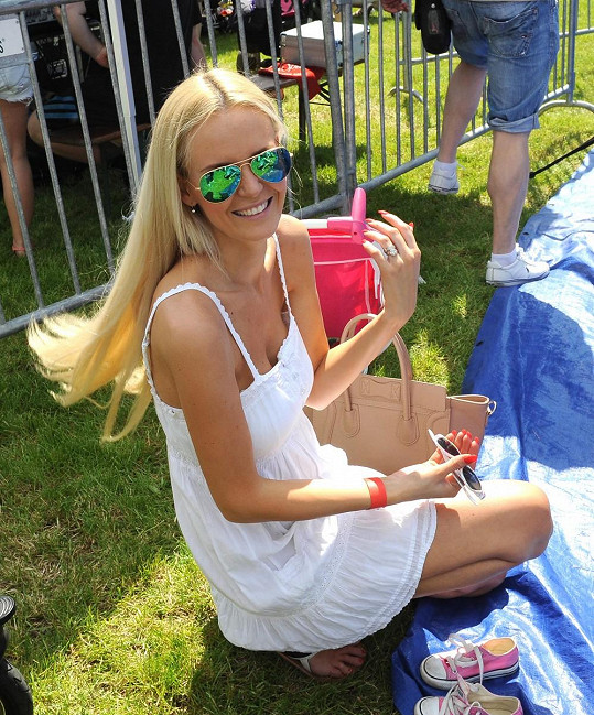 Lucie si užila slunečné odpoledne na akci Kočárkem Prahou.