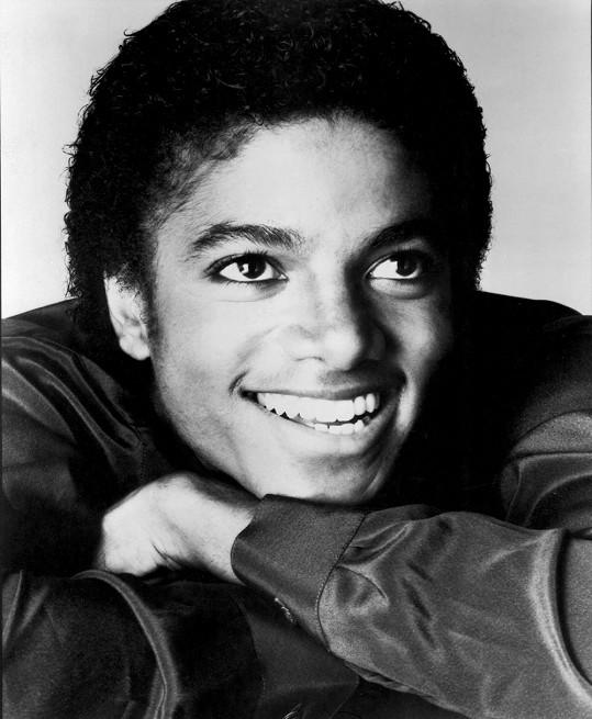 Michael Jackson v mládí.