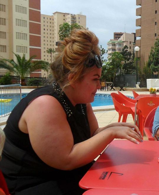 Keri se zděsila fotografií z dovolené ve Španělsku.