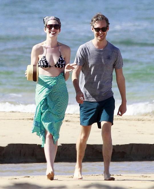 Anne s Adamem si dopřáli zaslouženou dovolenou.