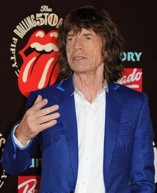 Mick Jagger má početný rodinný klan.