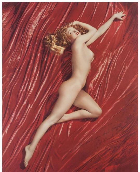 Marilyn Monroe fotila akty v době, kdy neměla peníze.