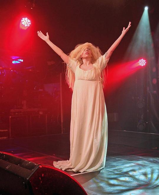 Lady Gaga jako Venuše.