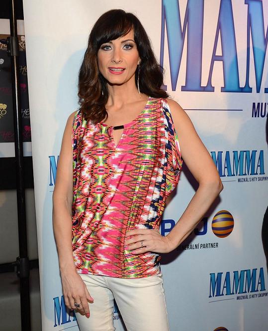 Daniela si účinkováním v muzikálu Mamma Mia! splnila dětský sen.