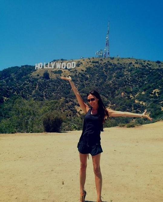 Victoria Beckham se ráda vrací do Los Angeles.