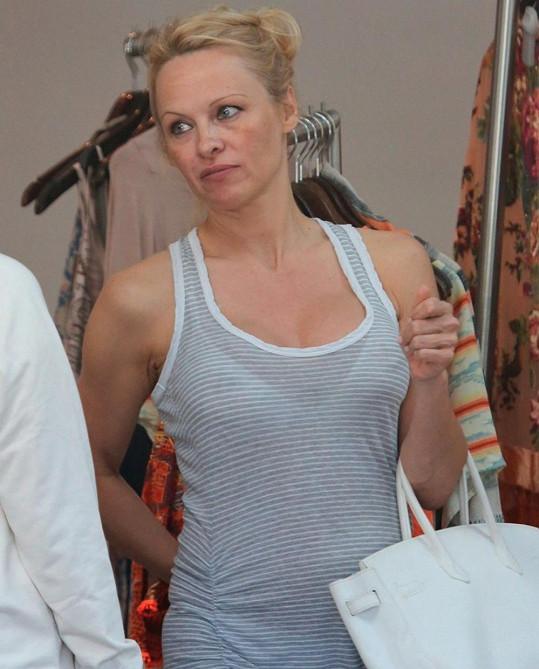 Pamela Anderson v obličeji zestárla.