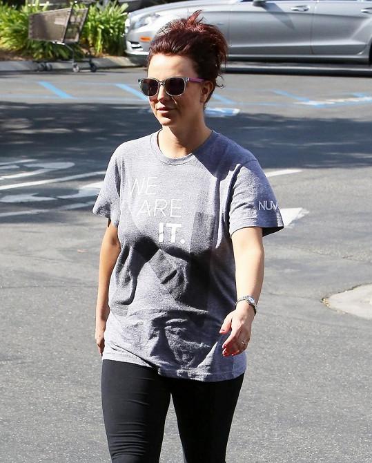 Britney nový barevný přeliv na vlasech prospěl.