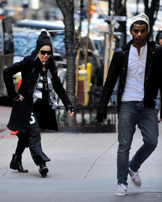 Madonna a Brahim spolu byli viděni ještě koncem listopadu.