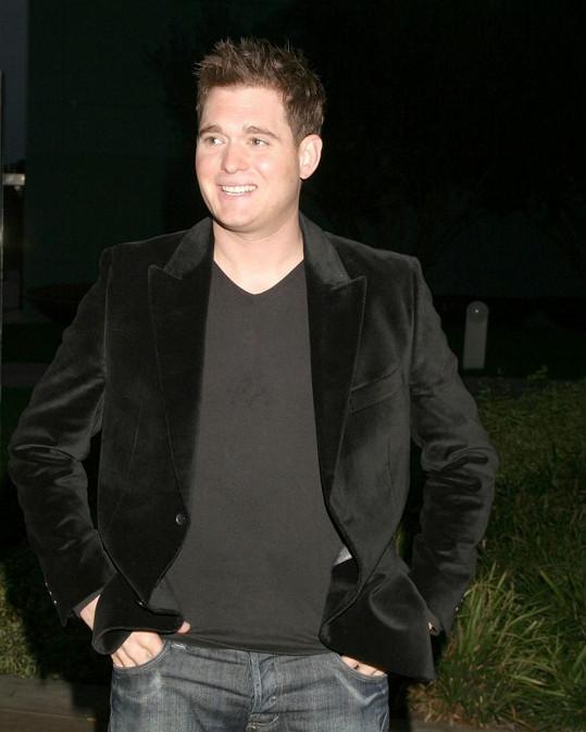 Michael Bublé si je vědom svých silných tělesných stránek...