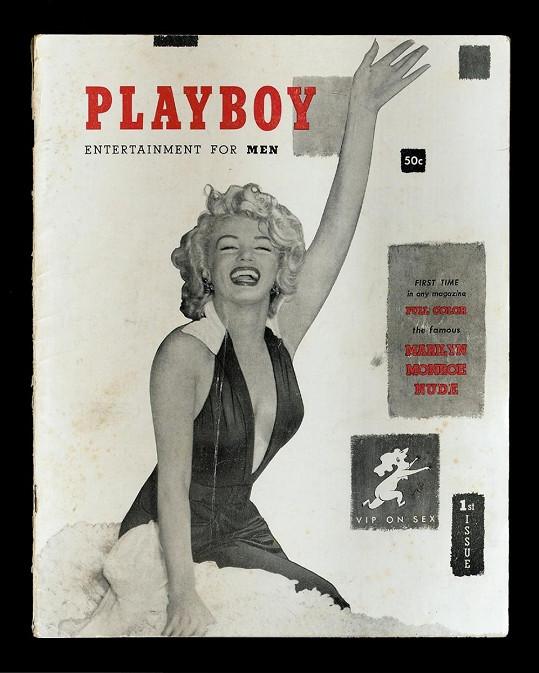 Legendární první obálka Playboye s Marilyn Monroe