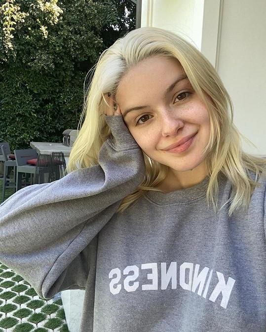 Ariel jako blondýnka