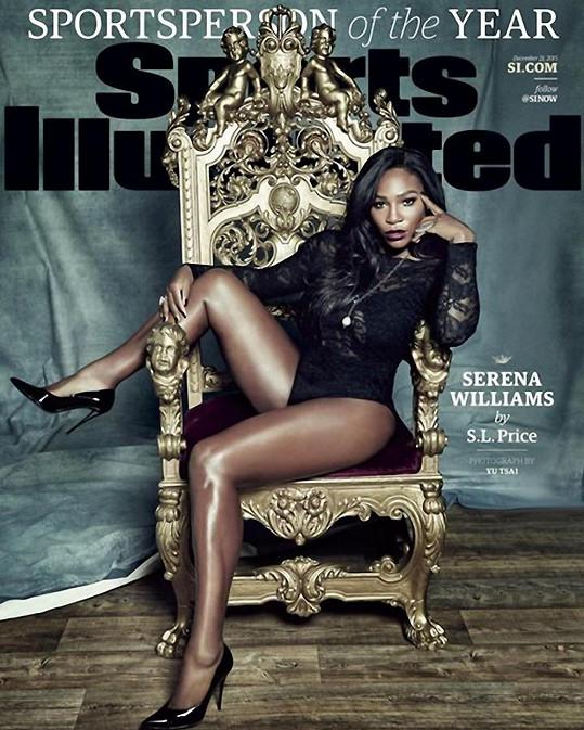 Takto vypadá Serena na nejnovější obálce magazínu.