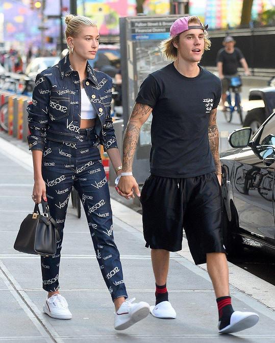 Justin Bieber a Hailey Baldwin jsou zpátky ve vztahu teprve měsíc.