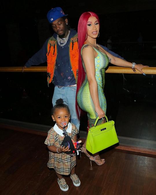 S rapperem Offsetem má dceru Kulture.