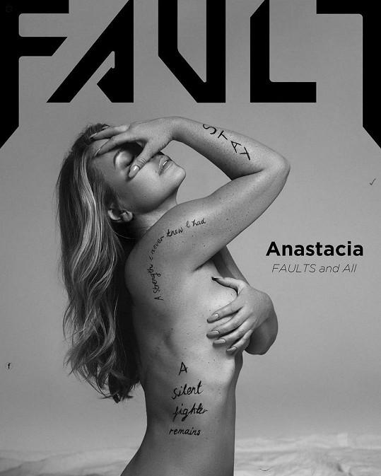 Anastacia pro magazín Fault