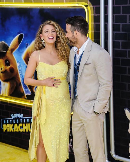 Blake Lively a Ryan Reynolds pobavili fanoušky roztomilou fotkou.