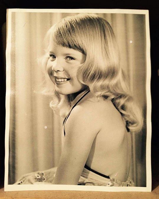 Kylie byla v dětství stejně roztomilá jako dnes.