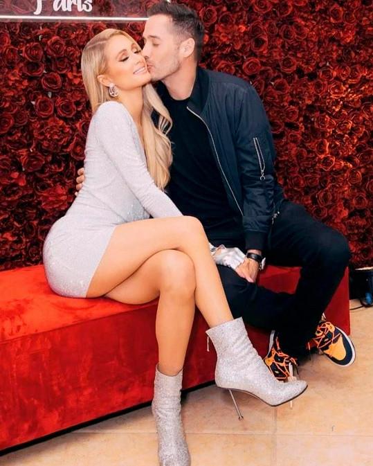 Paris Hilton s novým partnerem Carterem Reumem